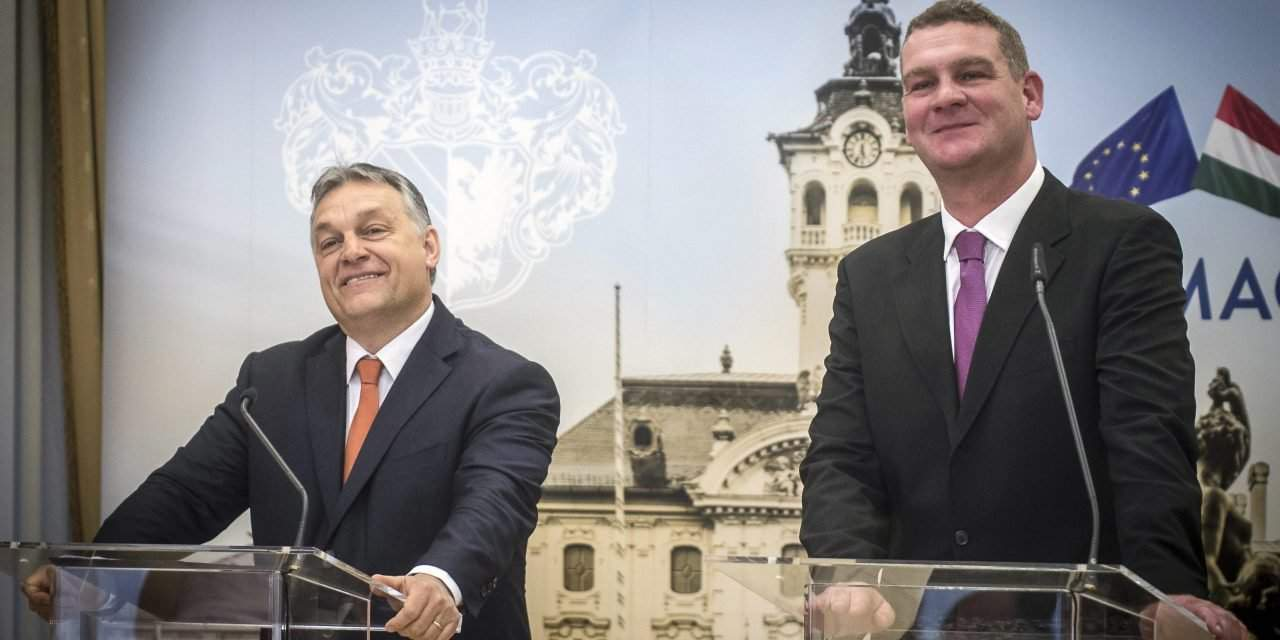 Orbán signs Modern Cities cooperation with Socialist mayor of Szeged