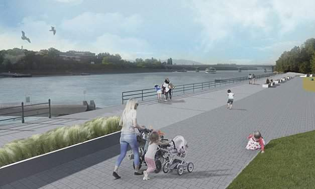 6.5 kilometre promenade to be built in the heart of Budapest