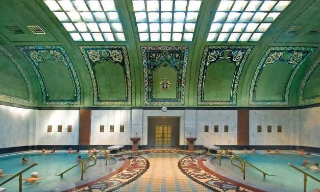 Vogue featured the healing baths of Budapest