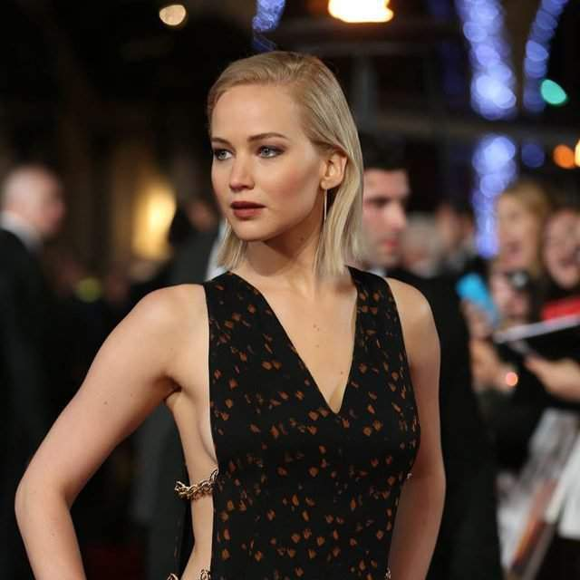 Jennifer Lawrence is getting to know her way around Budapest