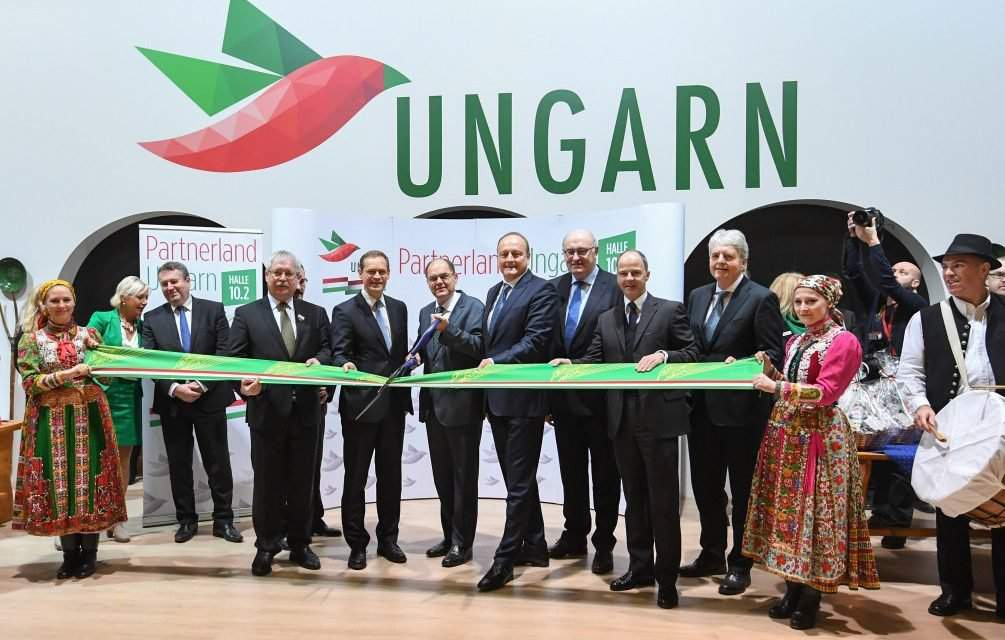 Berlin's Green Week has opened with Hungary as a guest of honour