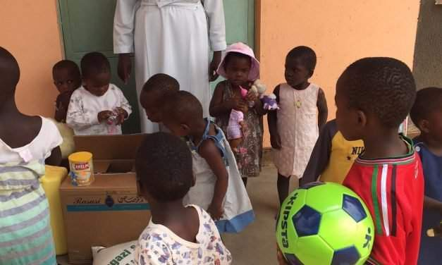 New Year's miracle in Uganda