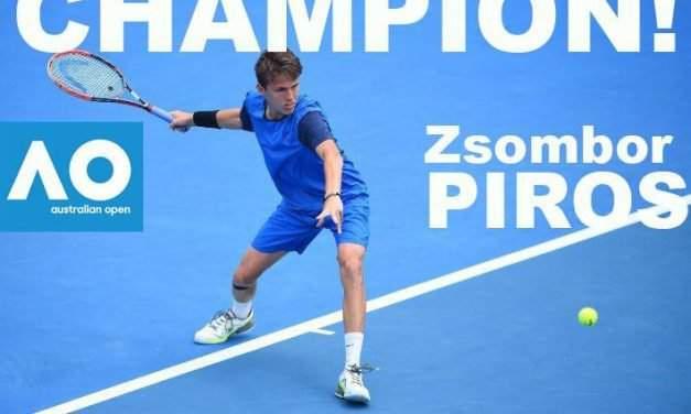 Hungarian Zsombor Piros wins Junior Australian Open