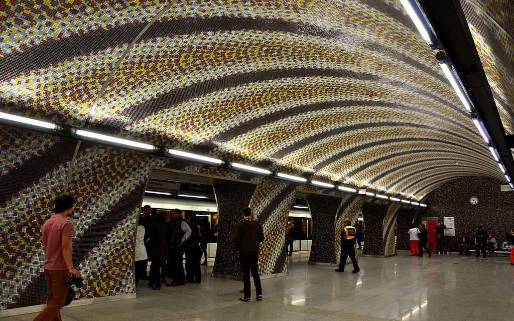 A Hungarian metro station listed among the most beautiful in the world