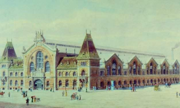 The Central Market Hall is 120 years old!