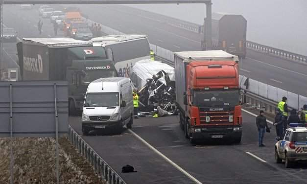 Four foreigners die in Hungary mass accident – Photos – UPDATE