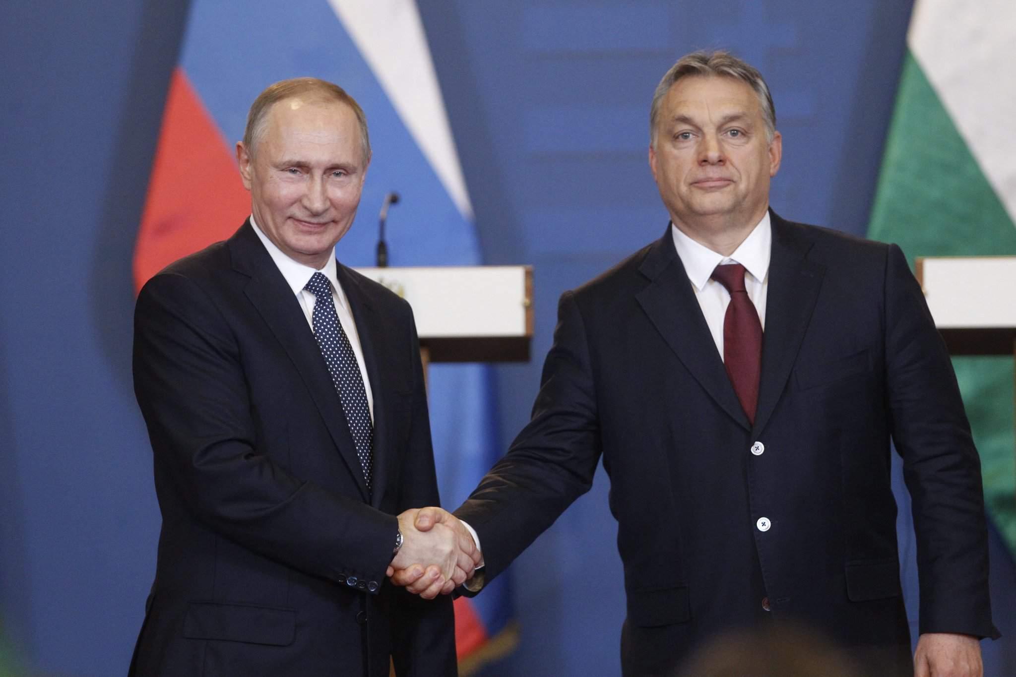 Putin Orbán