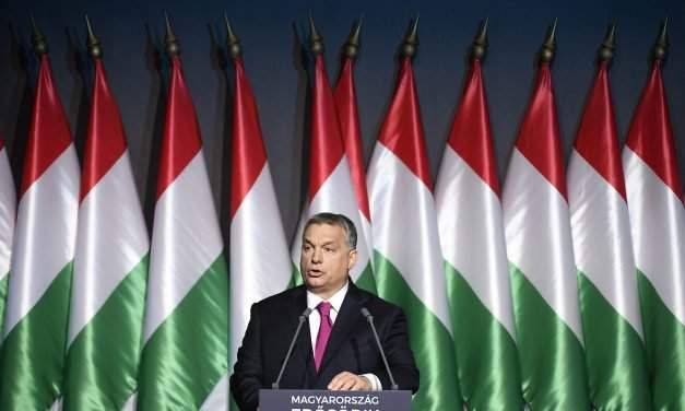 Orbán's state of the nation address were held in Budapest