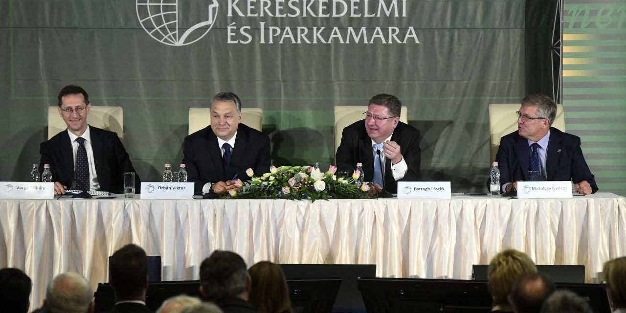 Hungarian Chamber of Commerce and Industry conference was held in Budapest