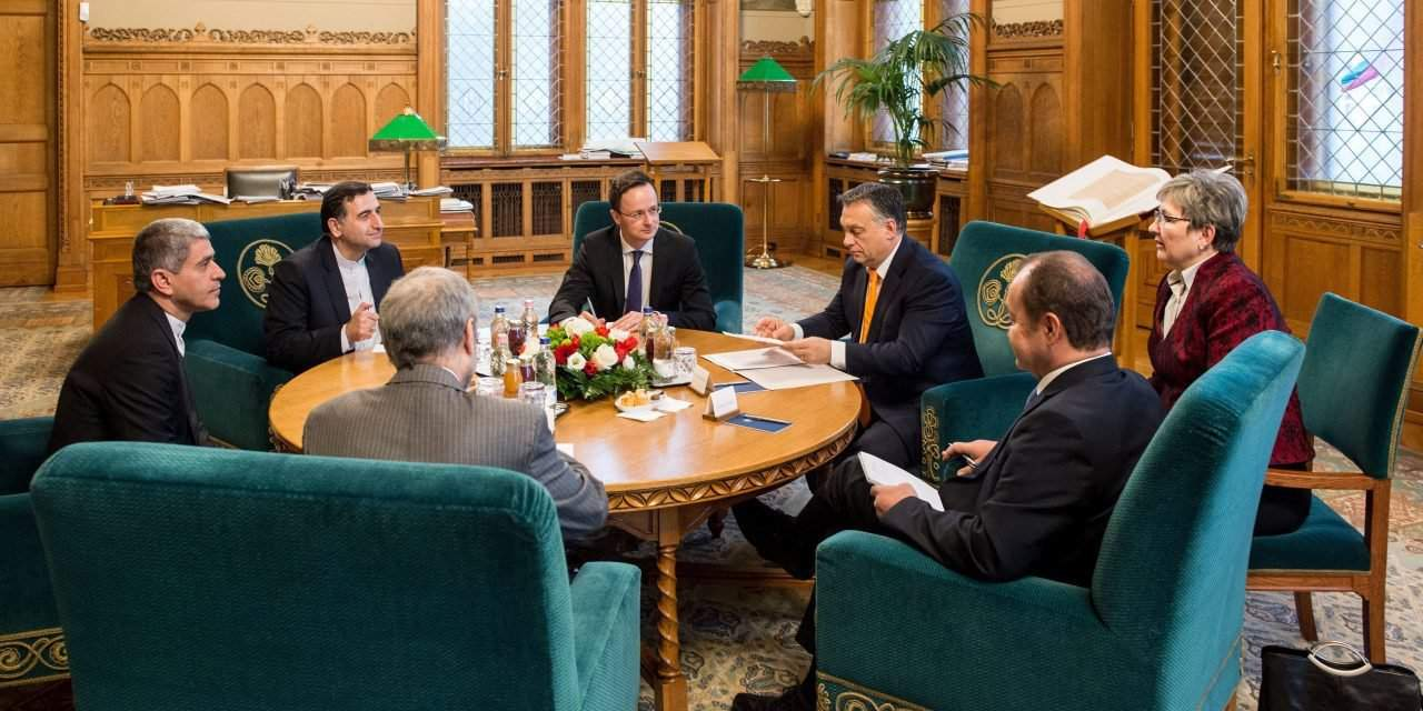 Orbán holds talks with Iran's economy minister