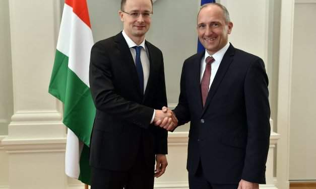 Hungarian foreign minister has talks in Liechtenstein