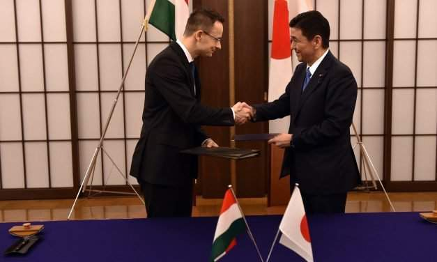 Hungary's foreign minister in Japan talks on expanding food exports, autos investments