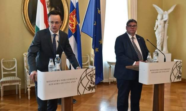 Hungary, Finland in strong accord on major debate elements on Europe's future, says foreign minister