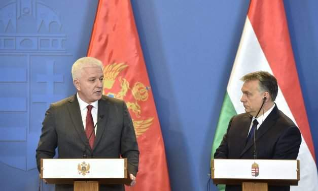 Montenegrin prime minister hold talks in Hungary – UPDATE