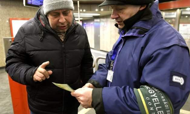 Budapest sticks to the world-famous Hungarian ticket inspectors