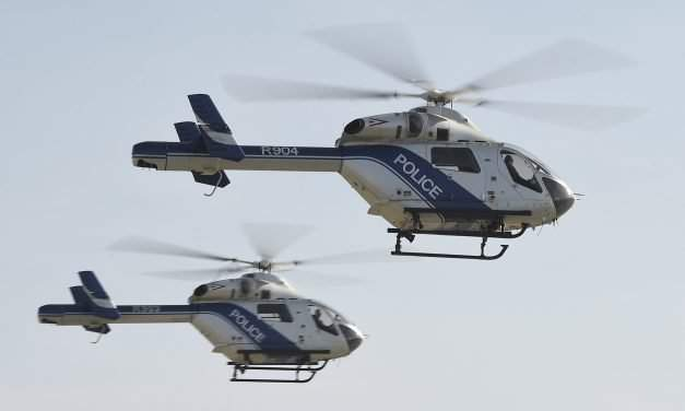 Police receive five new helicopters in Hungary