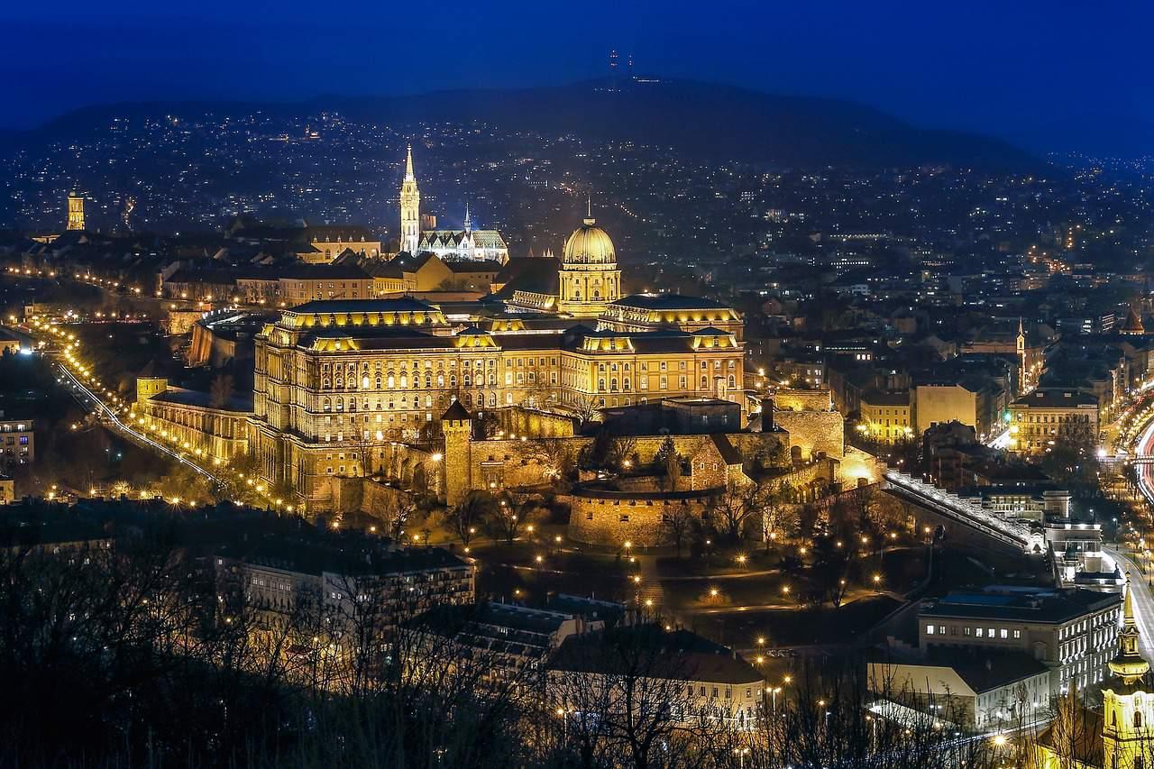 Budapest Buda castle