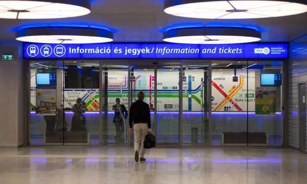 Budapest public transport company receiving international mock award nomination