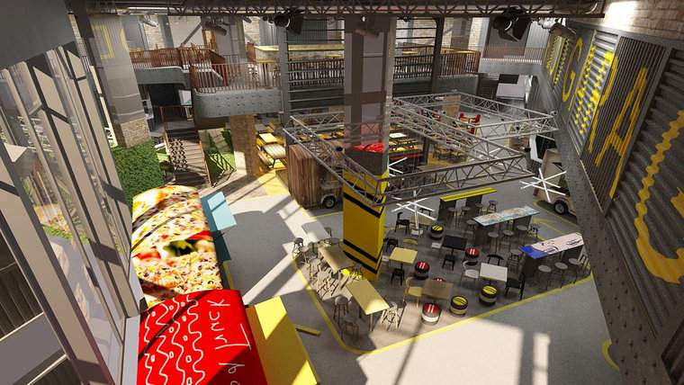 First gastro plaza to open in Budapest