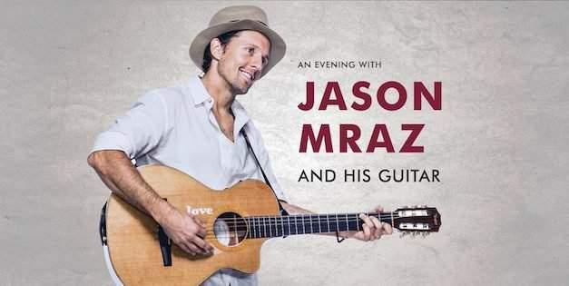 Jason Mraz concert in Budapest