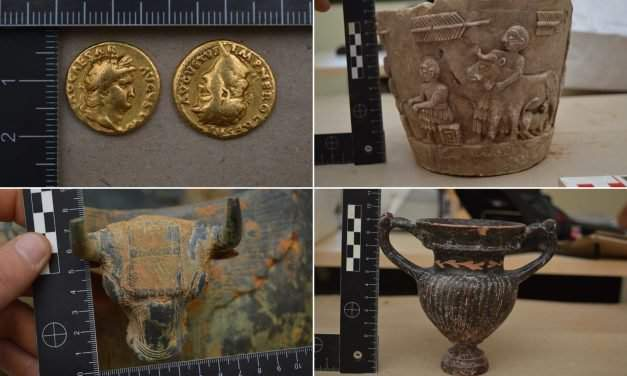 Incredible relics found in a Turkish van
