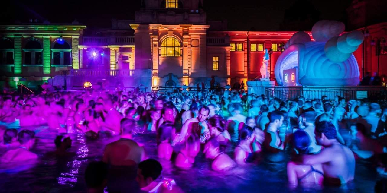 Tomorrow: Magical Party in the Széchenyi Bath in Budapest