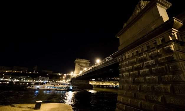 Hungary's most iconic buildings went dark for Earth Hour