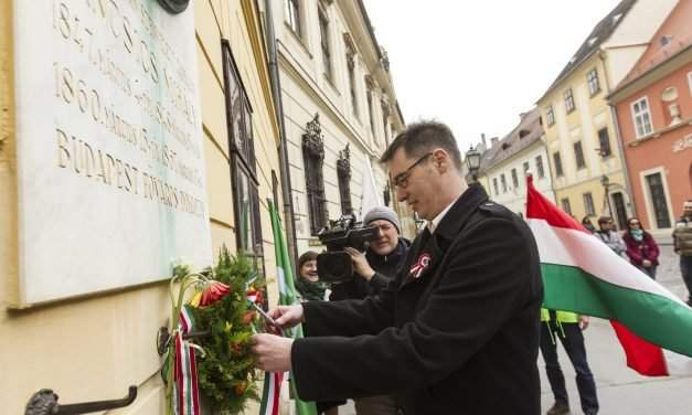 March 15 – Dialogue and Liberals commemoration in Budapest