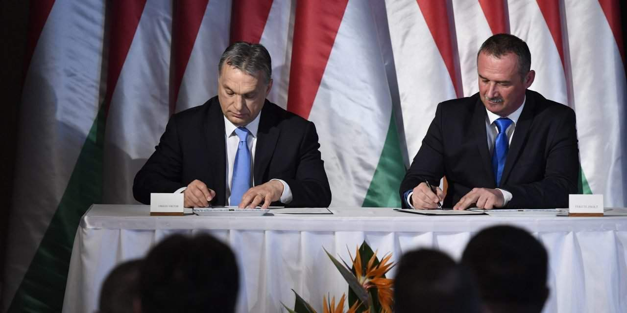 'Modern cities' programme: Orbán holds talks with mayor on Salgótarján's development plan