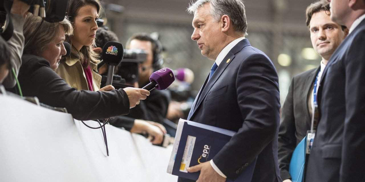 Keeping migrants in custody not equal to detention, says Orbán in Brussles