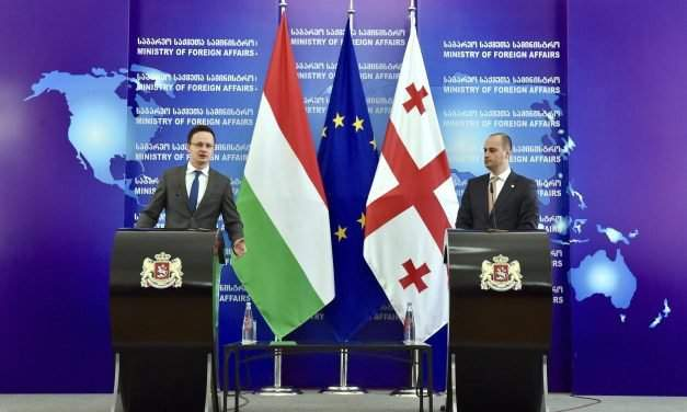 Hungary supports Georgia's NATO-EU integration, foreign minister says in Tbilisi