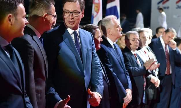 Hungarian government supports the campaign of incumbent Prime Minister Aleksandar Vucic in Serbia