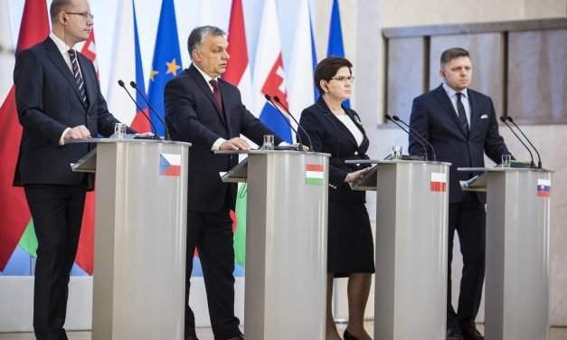 Europe getting closer to sensible migration policy, Orbán says at V4 summit