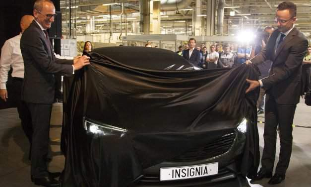 Ceremony marking 25 years of the Opel plant in Szentgotthárd