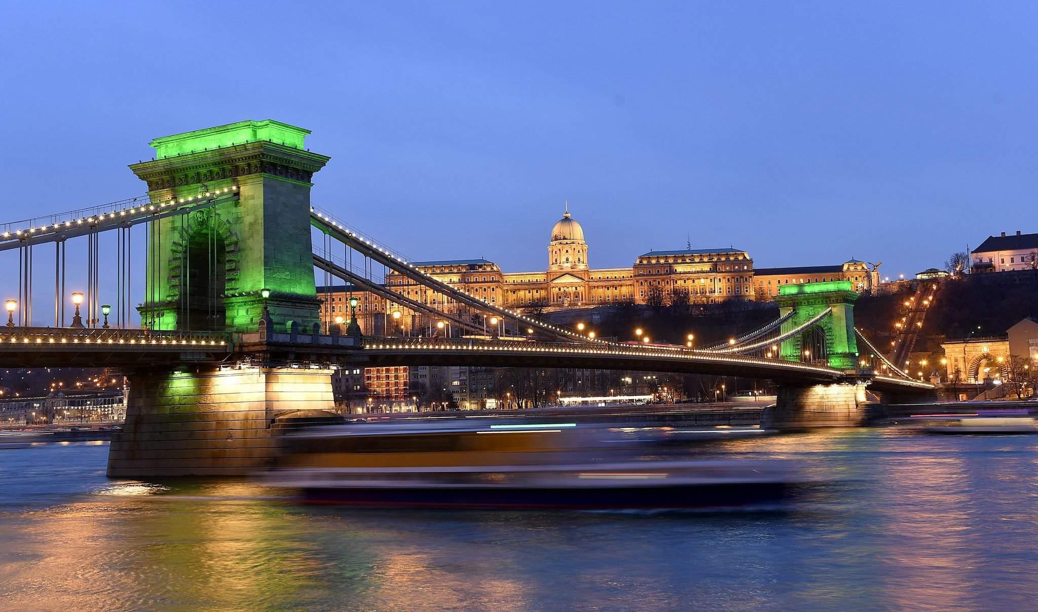 Saint Patrick S Day Celebrations In Budapest Photos