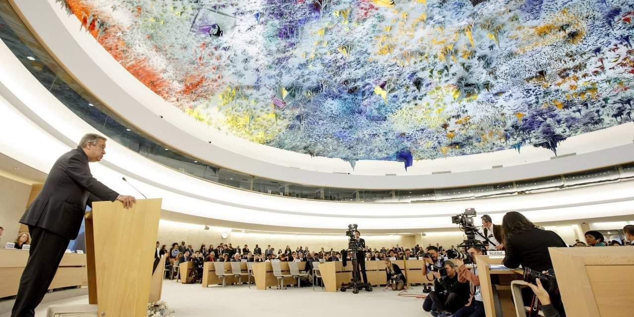 Hungarian foreign minister addresses UN Human Rights Council