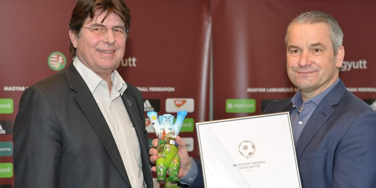 Hungary men's national team coach Bernd Storck in running for prestigious German coaching award