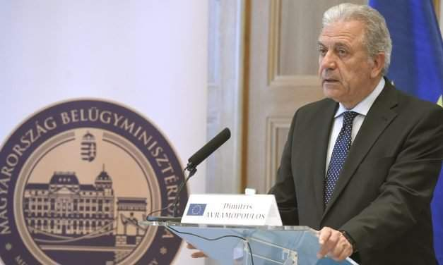 Migration, security global challenge, European commissioner Avramopoulos says in Budapest