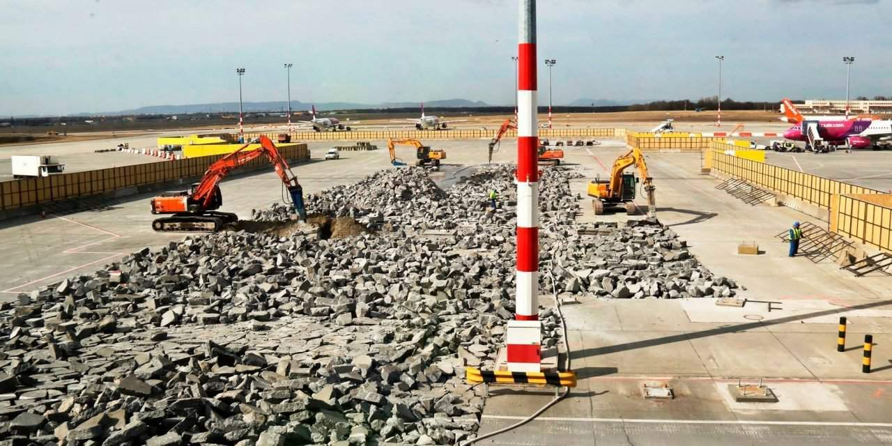 Construction of passenger pier starts at Budapest Airport – PHOTOS