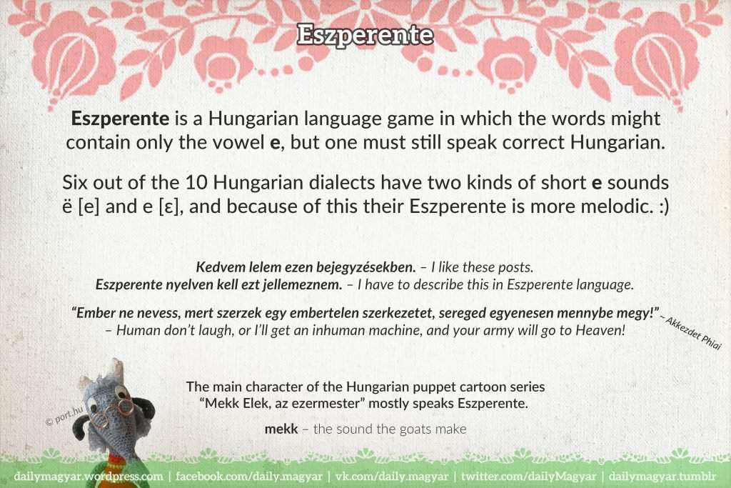 Mini language lesson 4 the hungarian alphabet daily news hungary finally we should take a glance at the history development of the hungarian alphabet for instance did you know that the oldest hungarian words using the m4hsunfo