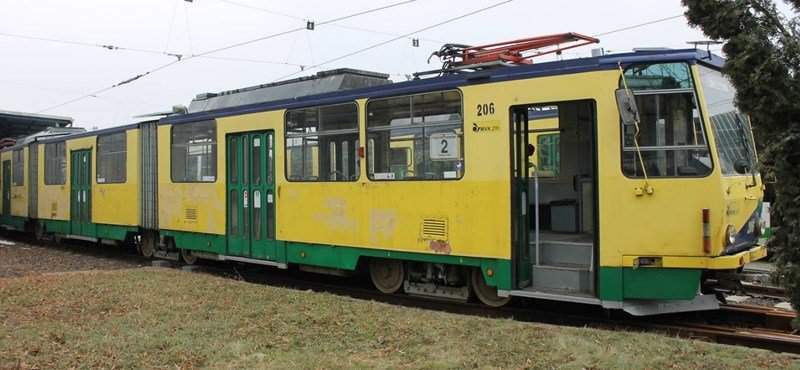 Trams of Miskolc to be auctioned off on the internet