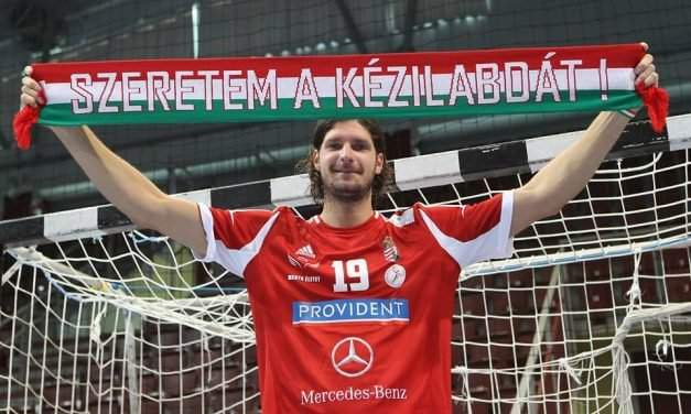 The captain of the Hungarian handball team, László Nagy, steps down