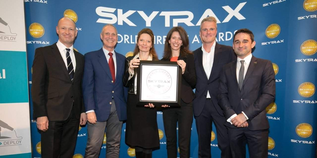 Budapest Airport wins fourth Skytrax Award in a row