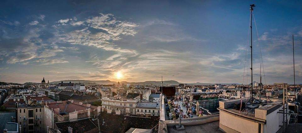 Budapest view 360 Bar rooftop