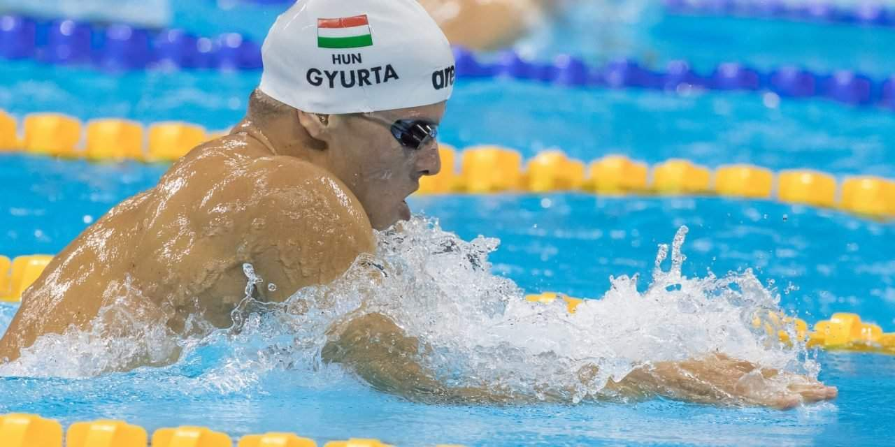 """Olympic Champion Dániel Gyurta: """"My coach did not praise my output yet but I am striving for it!"""""""