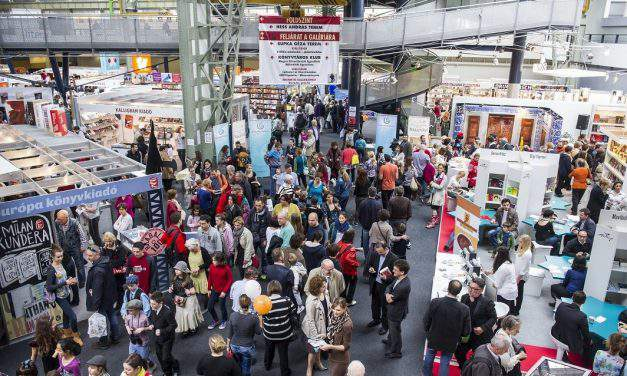 Visegrad Four stand to present over 30 programmes at Budapest International Book Festival