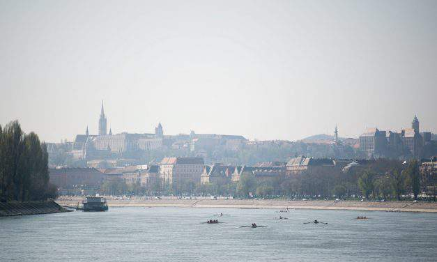 Record entries and visitors at the rapidly Growing Budapest Cup Regatta