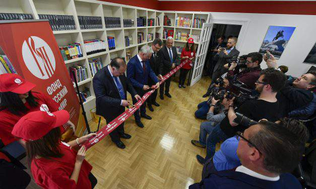 Russian Information Center opened at the University of Debrecen