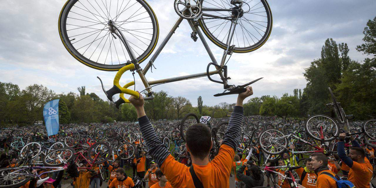 I Bike Budapest: 10,000 cyclists were on the streets – PHOTOS, VIDEOS