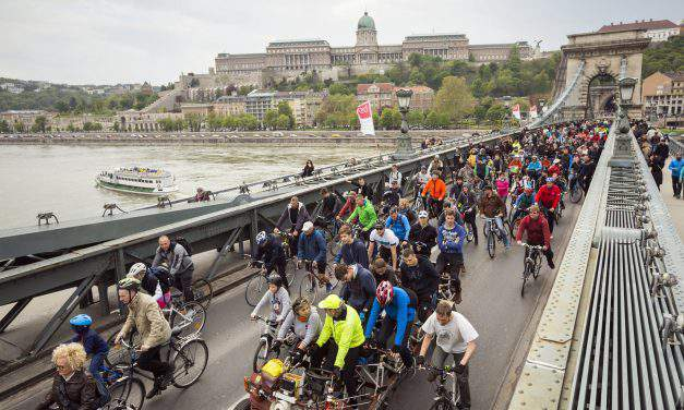 Budapest participates in the European Cycling Challenge